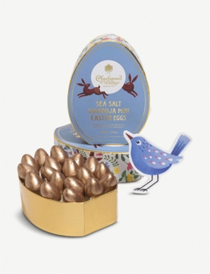 CHARBONNEL ET WALKER Sea salted milk chocolate mini Easter eggs 200g