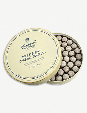 CHARBONNEL ET WALKER Sea Salt Caramel milk chocolate truffles 1.1kg