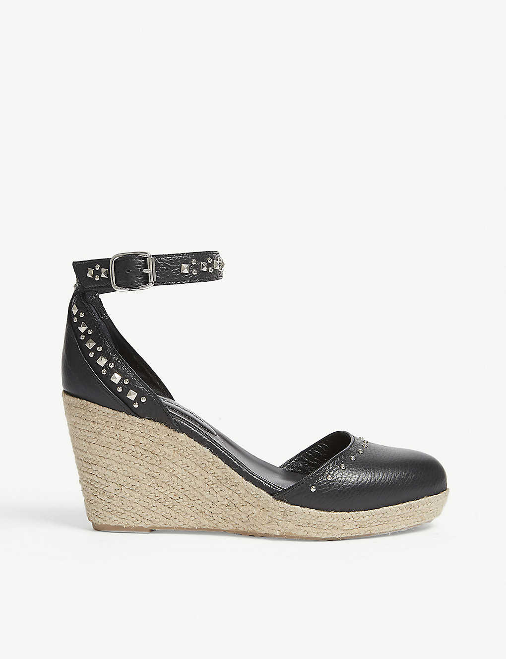 548a1369d88 THE KOOPLES - Studded leather heeled sandals | Selfridges.com