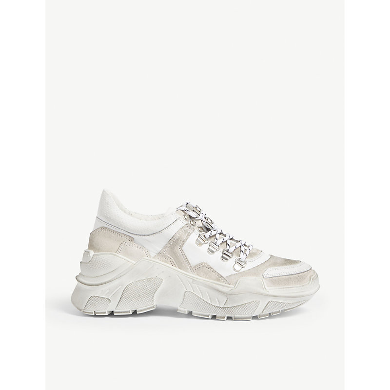 THE KOOPLES   Oversized Leather Trainers   Goxip