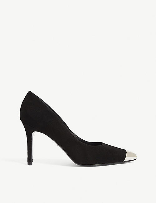 THE KOOPLES Rock 'n' Roll suede stiletto courts