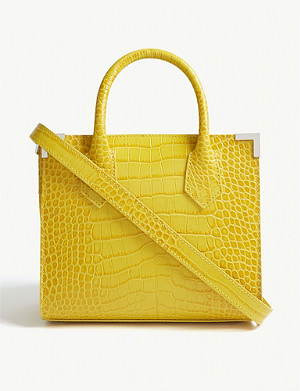 THE KOOPLES Ming reptile-effect leather shoulder bag