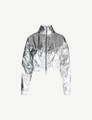 THE KOOPLES The Kooples Sport x PUMA metallic woven jacket