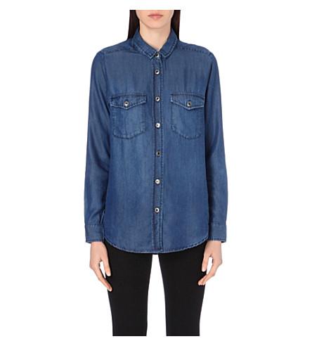3cfbe1d684 THE KOOPLES - Button-down denim shirt | Selfridges.com