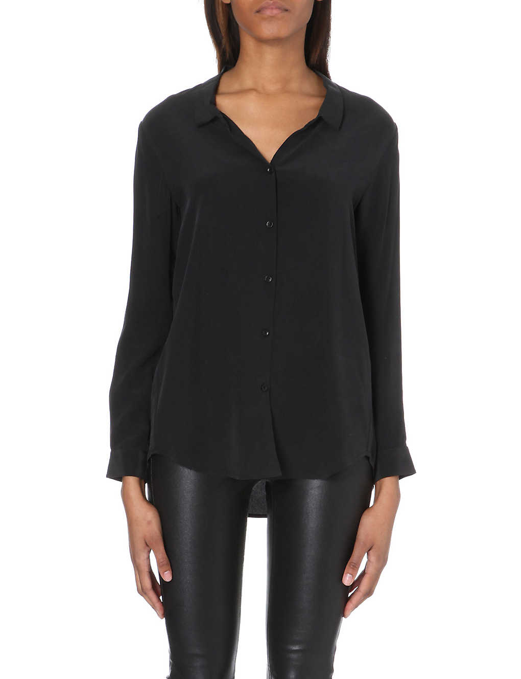 afeabf6d545 THE KOOPLES - Silk boyfriend shirt | Selfridges.com