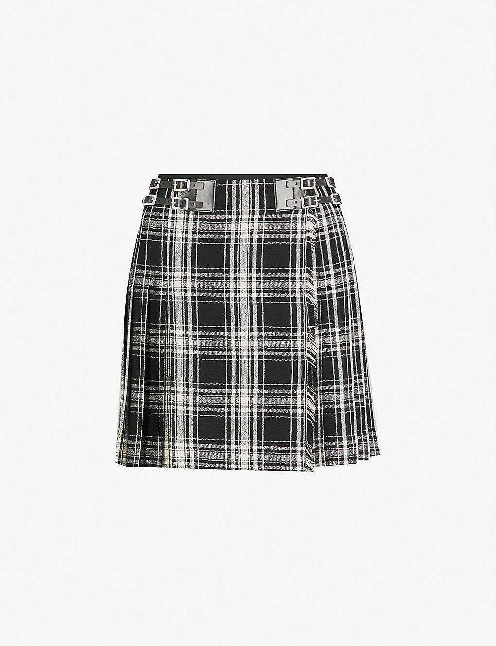 d73a075c5e THE KOOPLES - Checked woven mini skirt | Selfridges.com