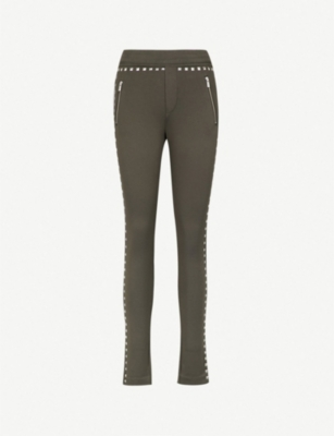 THE KOOPLES Stud-trim jersey joggers