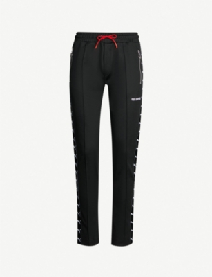 THE KOOPLES The Kooples Sport x PUMA straight knitted jogging bottoms