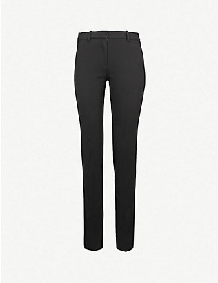 THE KOOPLES: Timeless stretch-wool trousers