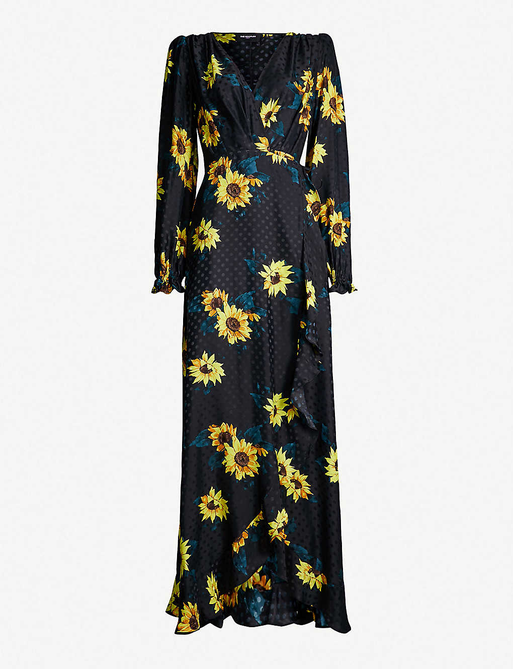 1f4bcb39425 THE KOOPLES - Floral-print silk-crepe maxi dress | Selfridges.com