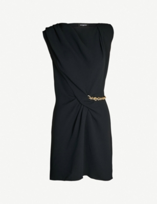 THE KOOPLES Chain drim twist-detail minidress