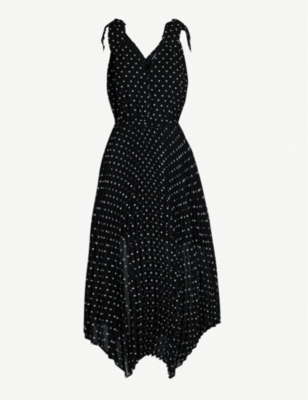 THE KOOPLES Polka dot-patterned crepe dress