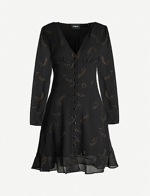 THE KOOPLES Paisley print crepe dress