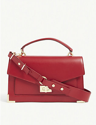 THE KOOPLES: Emily leather shoulder bag