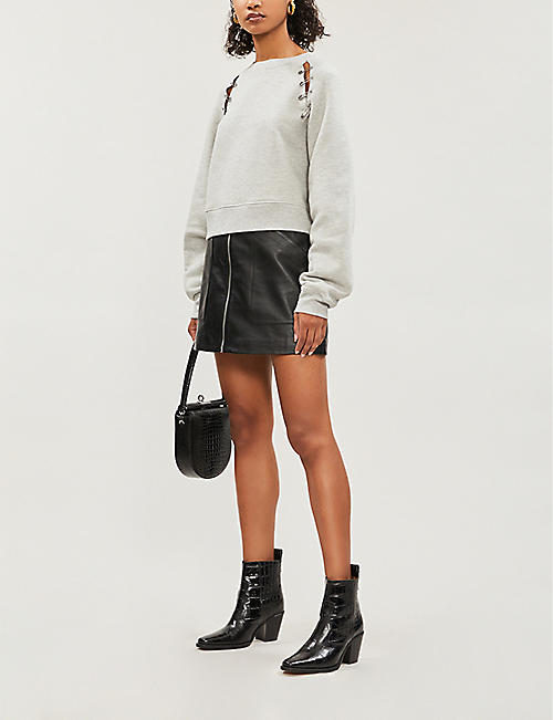 THE KOOPLES Embellished jersey sweatshirt