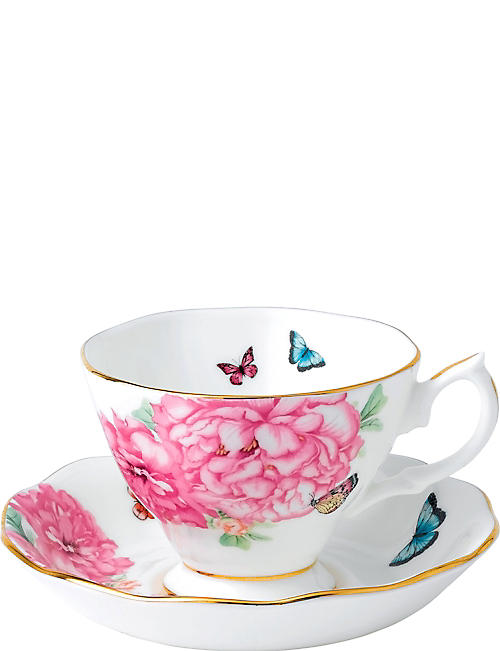 ROYAL ALBERT: Miranda Kerr friendship teacup and saucer