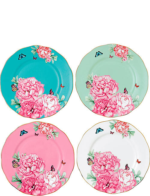 ROYAL ALBERT: Miranda Kerr Friendship plates set of four