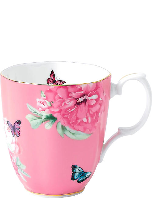 ROYAL ALBERT: Miranda Kerr Friendship pink mug