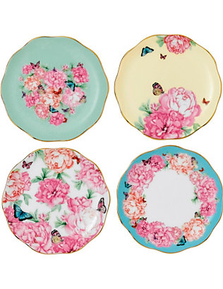 ROYAL ALBERT: Miranda Kerr set of four 10cm coasters