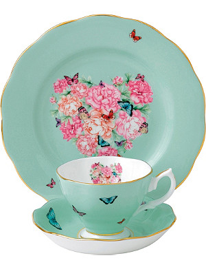 ROYAL ALBERT Miranda Kerr Blessings 3-piece tea set