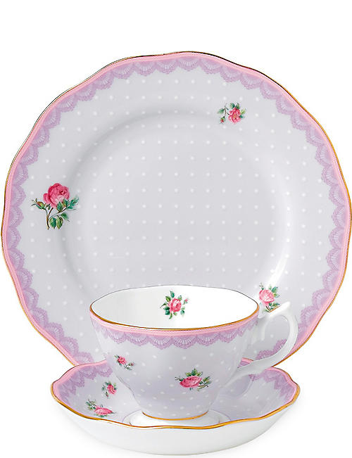 ROYAL ALBERT Candy Love Lilac 3-piece set