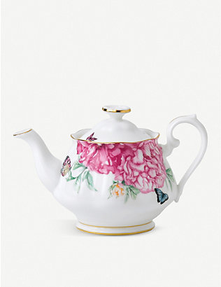 ROYAL ALBERT: Miranda Kerr Friendship bone china teapot 450ml
