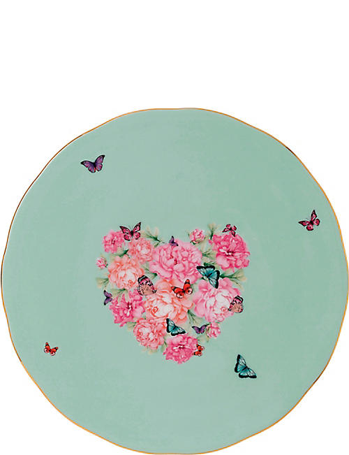ROYAL ALBERT: Miranda Kerr Blessings fine bone china cake plate 29.5cm