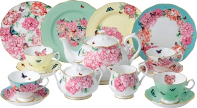ROYAL ALBERT Miranda Kerr fine bone china 15-piece tea set