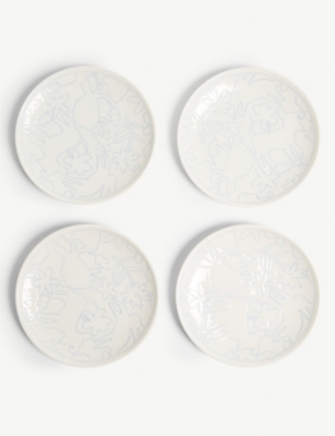 ROYAL DOULTON ED Ellen Degeneres small plates set of four