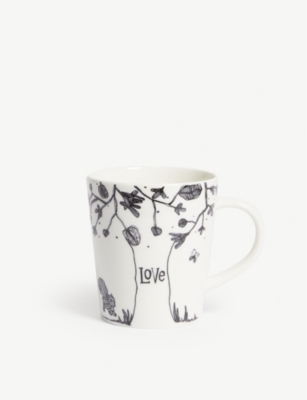 ROYAL DOULTON ED by Ellen Degeneres Love Tree mug