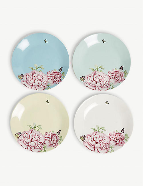 ROYAL ALBERT: Miranda Kerr Friendship china tea plates set of four