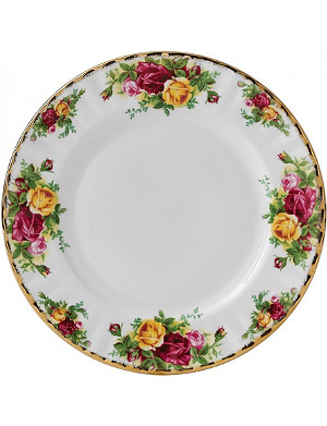 ROYAL ALBERT Old Country Roses 瓷盘 18 厘米