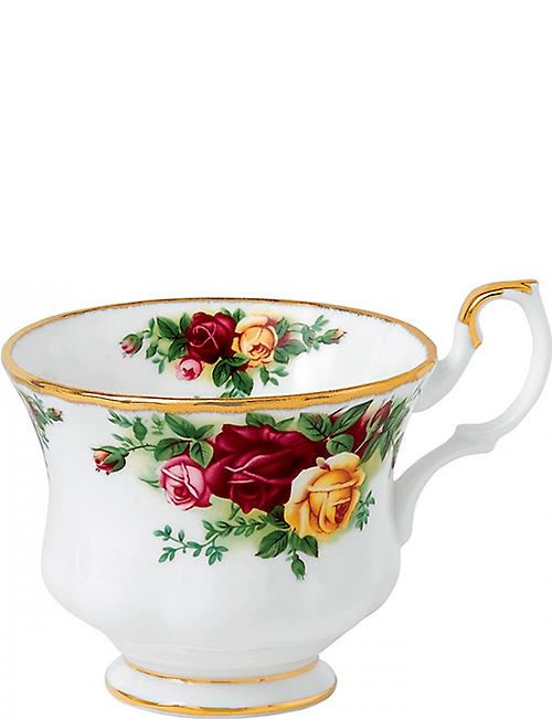 ROYAL ALBERT: Old Country Roses tall tea cup