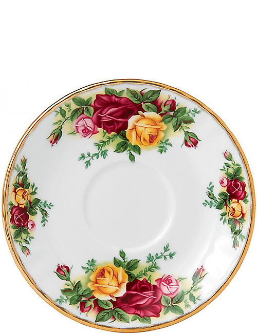 ROYAL ALBERT: Old Country Roses coffee saucer