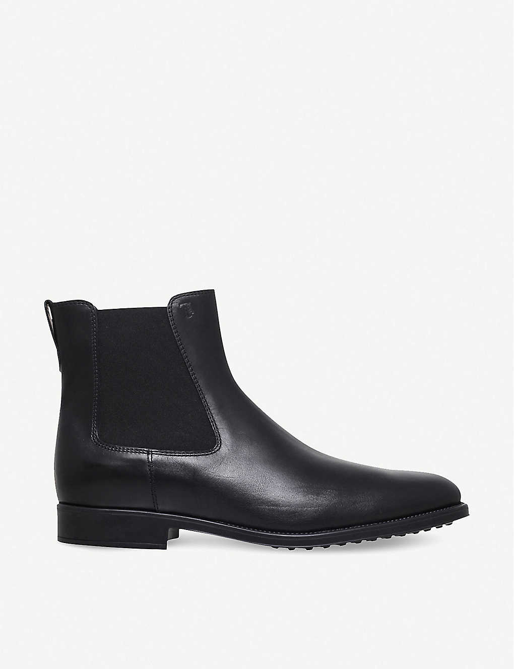 91975293ae4f06 Classic leather Chelsea boots - Black ...