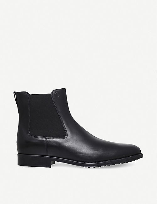 TODS Classic leather Chelsea boots