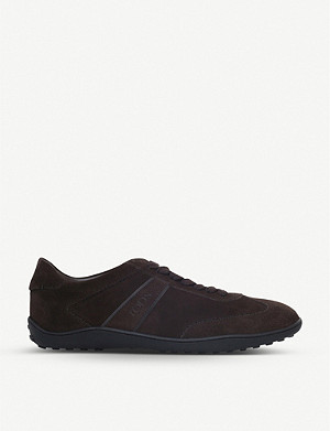TODS Lo Pro suede trainers