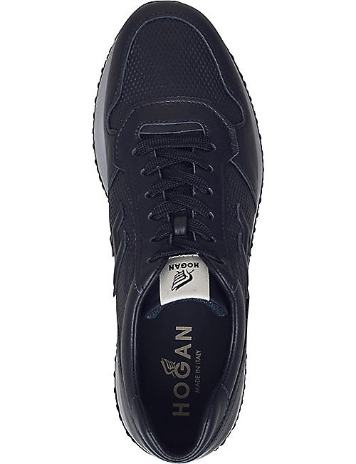 HOGAN Interactive N20 leather trainers