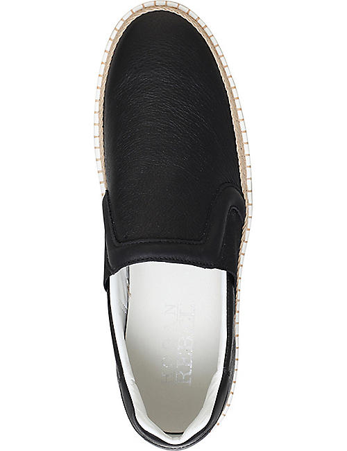 HOGAN R260 slip-on leather trainers