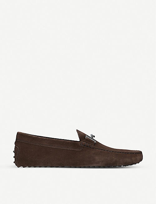 fe468d9e4f5 TODS Gommino suede moccasins