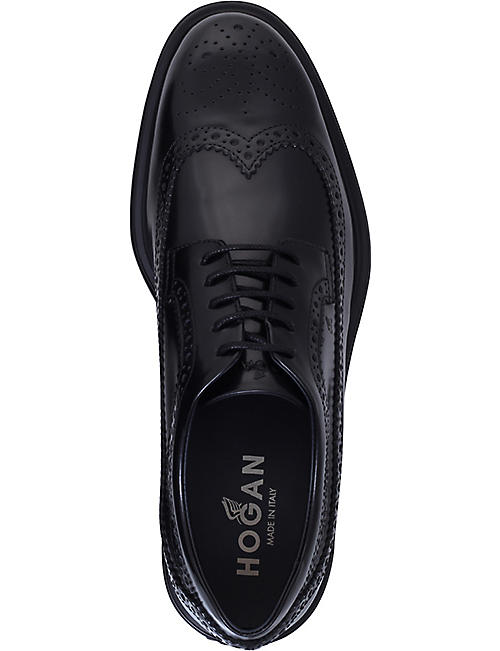 HOGAN H304 New Route leather Derby shoes