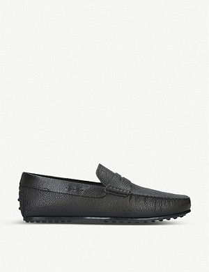 TODS City Driver leather penny loafers