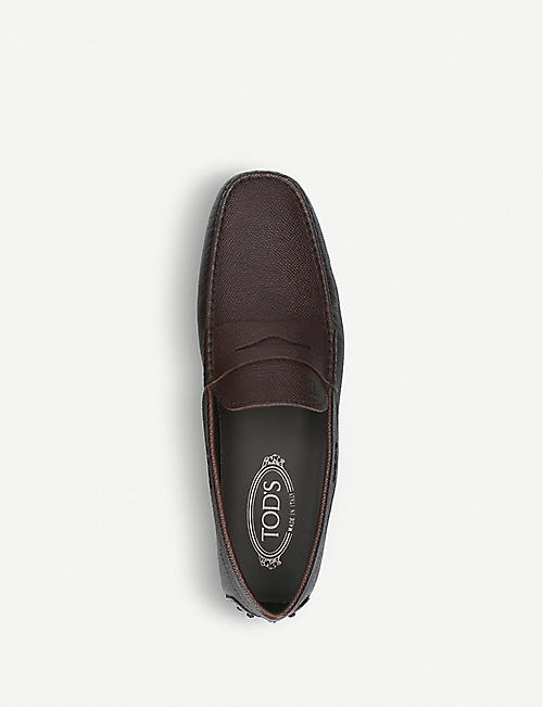 TODS City Driver leather driving shoes