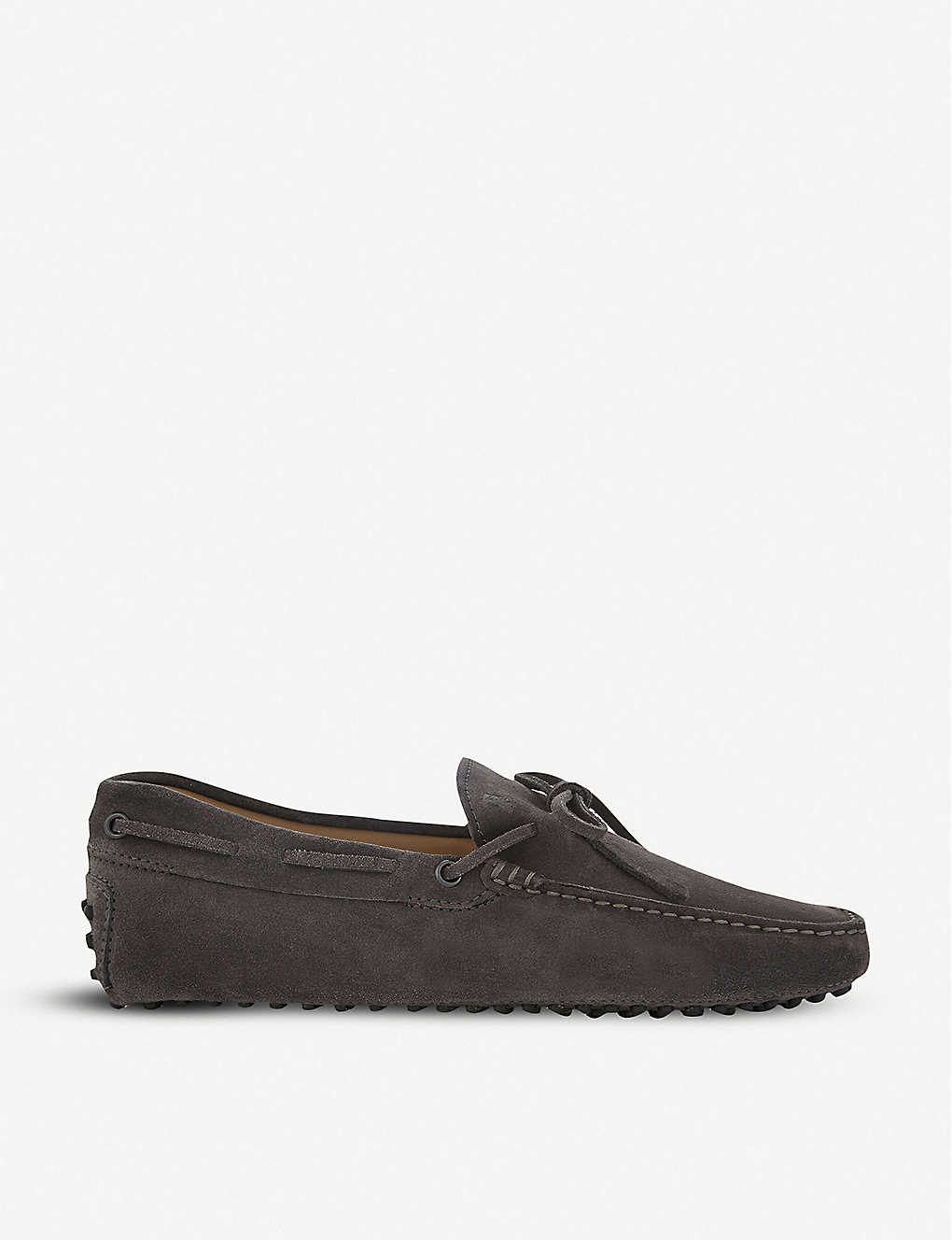 TODS: 122 suede driving shoes