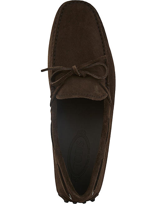 TODS 122 suede driving shoes