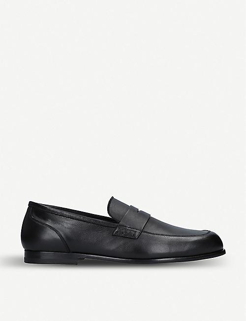 100a95bee HARRYS LONDON Dorian unlined leather loafer