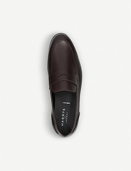 HARRYS LONDON Dorian unlined leather loafer
