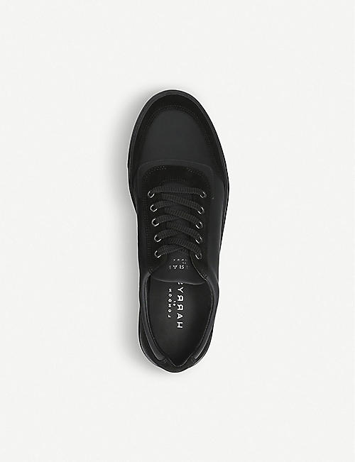 HARRYS LONDON Nimble mixed-leather trainers
