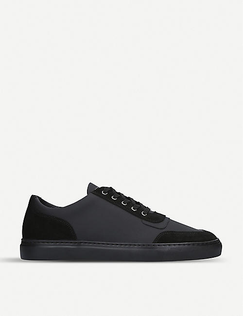 HARRYS LONDON: Nimble mixed-leather trainers