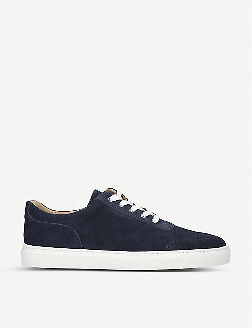 HARRYS LONDON: Nimble leather low-top trainers